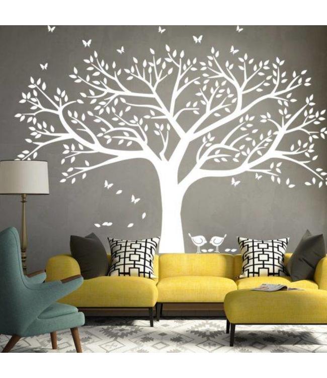 Muursticker grote boom