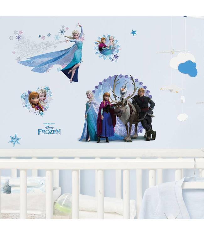 Muurstickers Disney Babykamer.Muursticker Disney Frozen