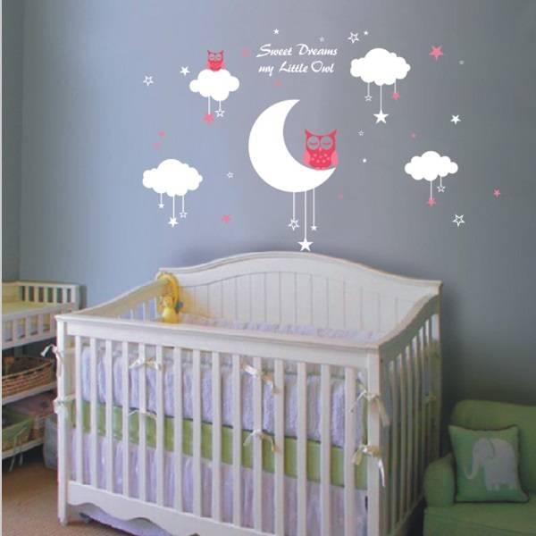 Muurstickers voor in je babykamer