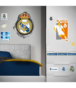 Muursticker Real Madrid Logo Hole