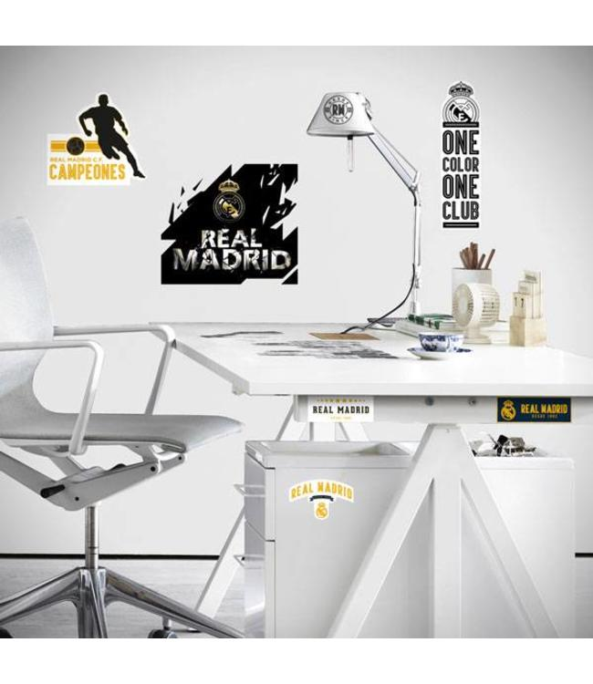 Muursticker Real Madrid Logo Premium