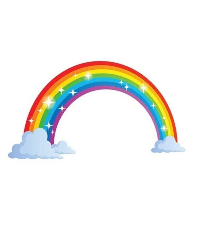 Muursticker regenboog
