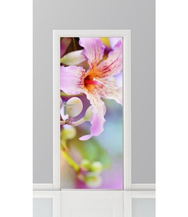 Deursticker bloemen 33