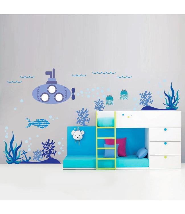 Muursticker onderwaterwereld
