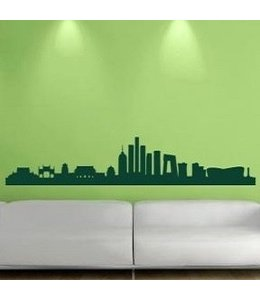 Muursticker skyline Beijing / Peking