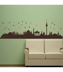 Muursticker skyline Berlijn