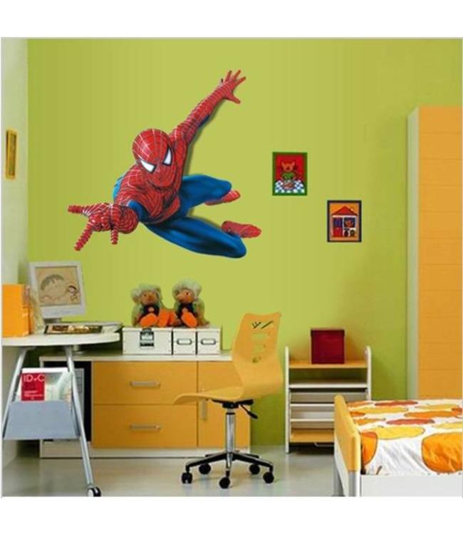 Muurstickers Kinderkamer Spiderman.Muursticker Spiderman Muursticker Kinderkamer Muurstickers Zo
