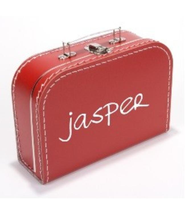 Kinderkoffertje met naam handschrift