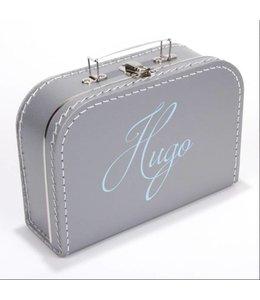 Kinderkoffertje met naam krul