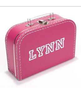 Kinderkoffertje met naam trendy