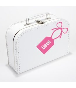 Kinderkoffertje met naam tag
