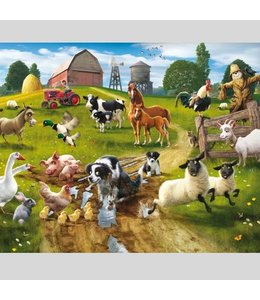 Fotobehang boerderij XXL