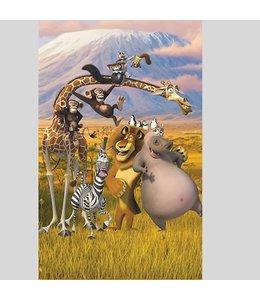 Behangposter Madagascar