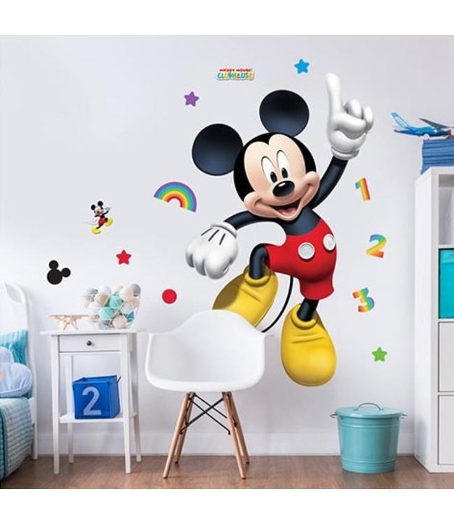 Uitzonderlijk Muursticker Mickey Mouse XXL - Muurstickers kinderkamer SY09