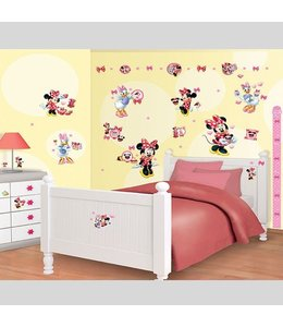 Muursticker Minnie Mouse