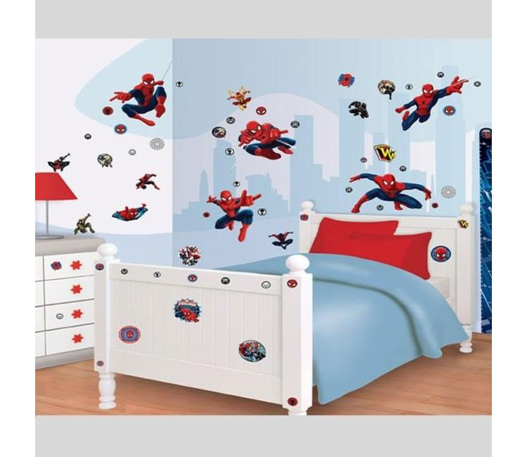 Muurstickers Kinderkamer Spiderman.Muursticker Spiderman Muurstickers Kinderkamer Muurstickers Zo