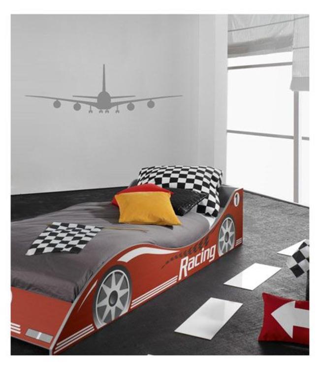 Muursticker Airplane by Coart