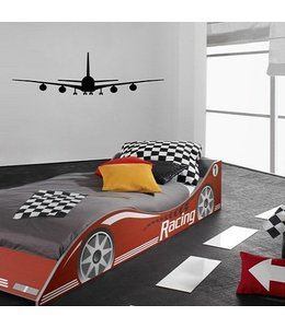 Muursticker Airplane by Coart
