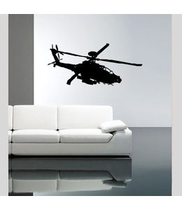 Muursticker helicopter by Coart