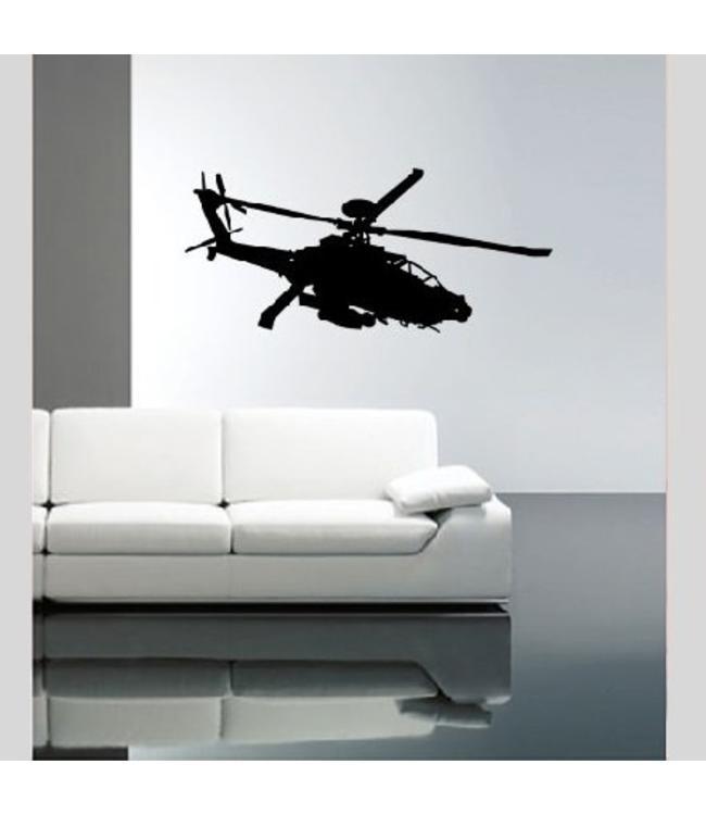 Muursticker helicopter by Coart