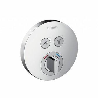 Hansgrohe Farbset ShowerSel. S Mischer verchr.rund f.2 Verbraucher f.HGROUPIBOXUNI Hansgr.