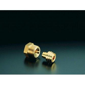 Anschlussatz f.Heizoelfilter 8mm f.Einstrang
