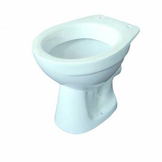 VIGOUR Stand-Tiefspül-WC one Abgang waagerecht weiß