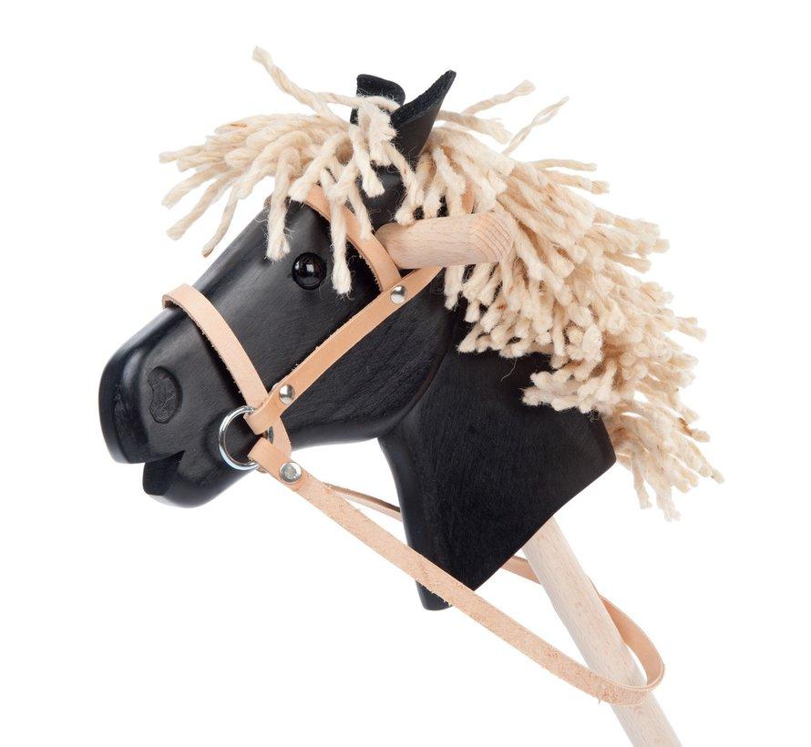 Leren halster (voor stokpaarden)