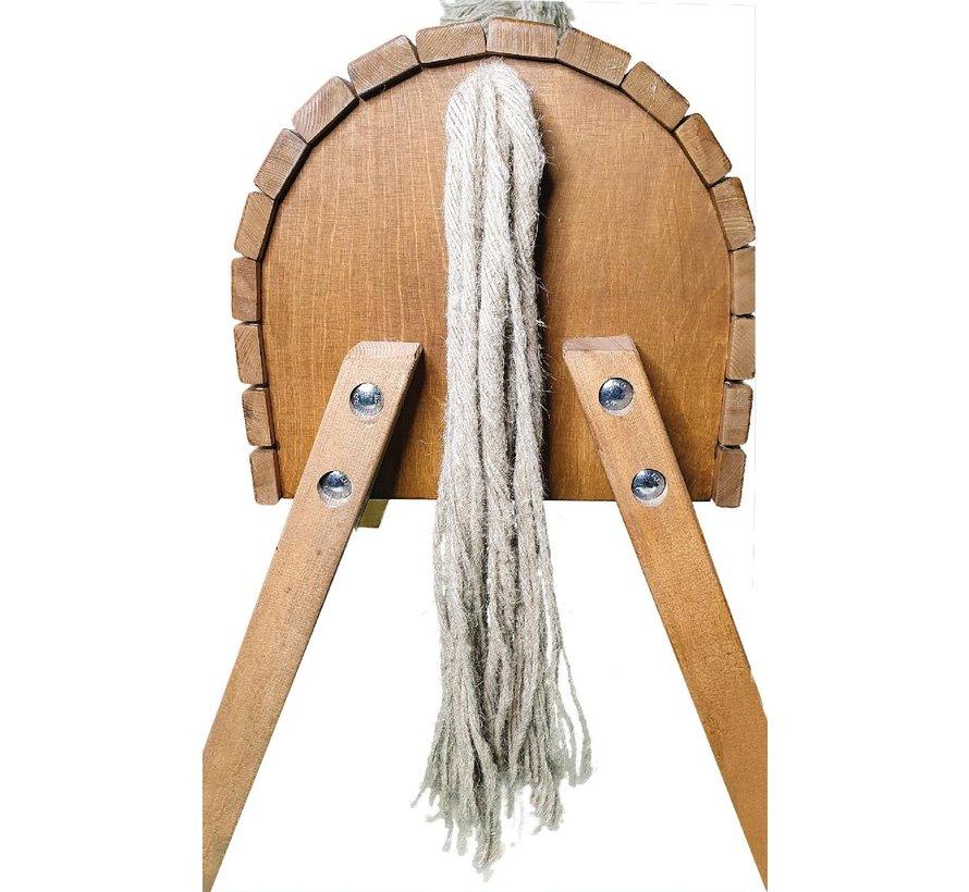 Houten paard 50 cm