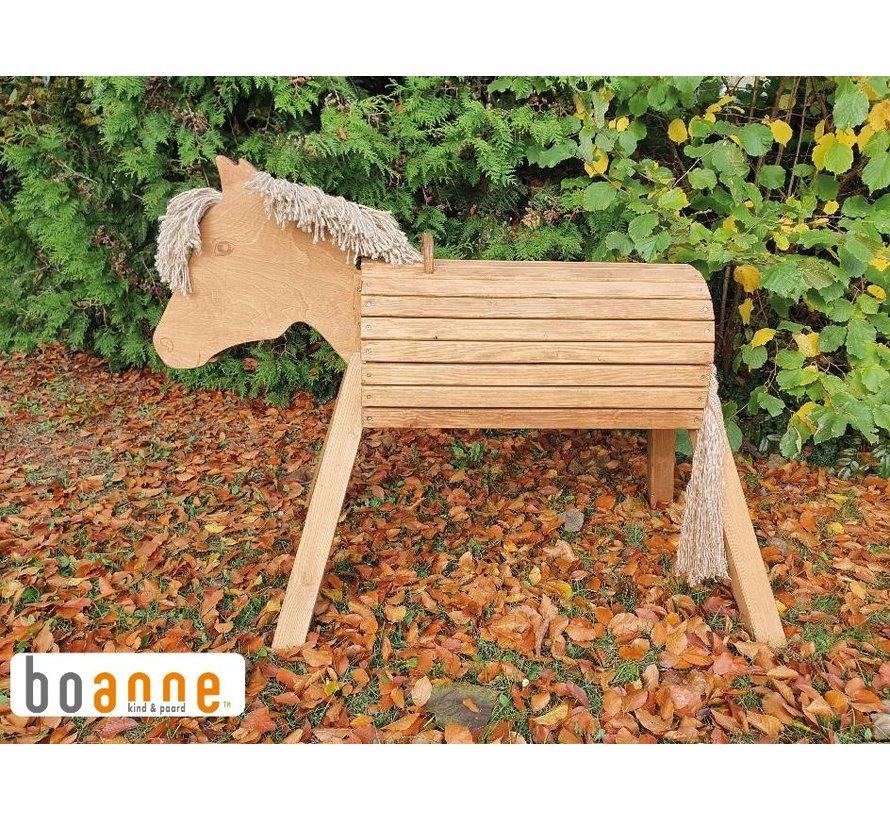Houten paard 80 cm