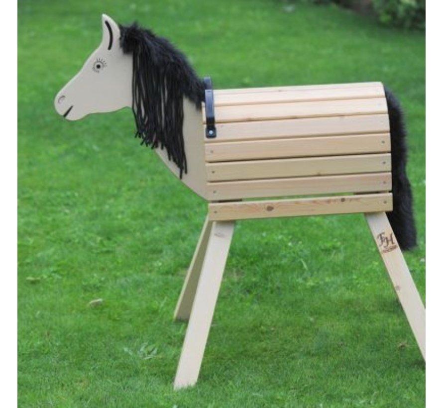 Houten paard Woody bouwpakket