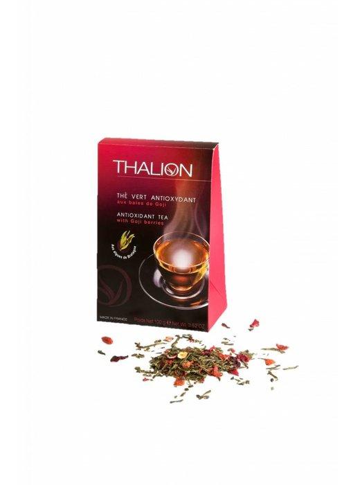 Antioxidativer Grüner Tee mit Goji-Beeren