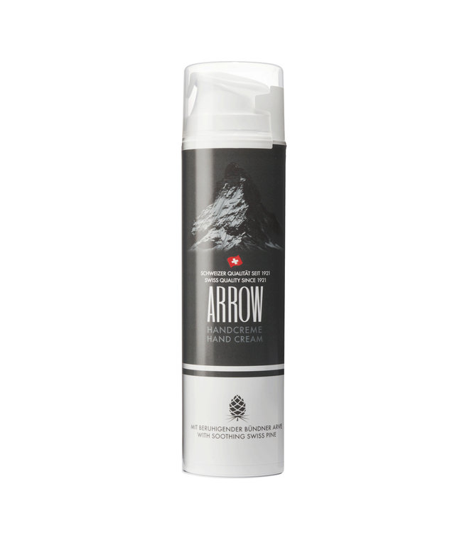 Arrow Hand cream with soothing Swiss stone pine
