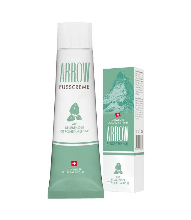 Arrow Foot cream wih invigorating lemon balm