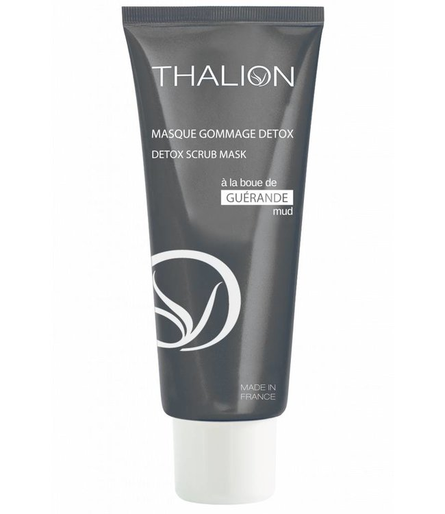 THALION Detox Peeling Maske mit Schlamm aus Guérande - Detox Scrub Mask