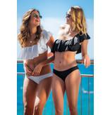 Pillert Swimwear Cuba Libre Ruffle White - Bikini 2pcs Set