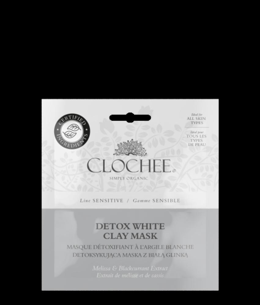 Detox white clay mask