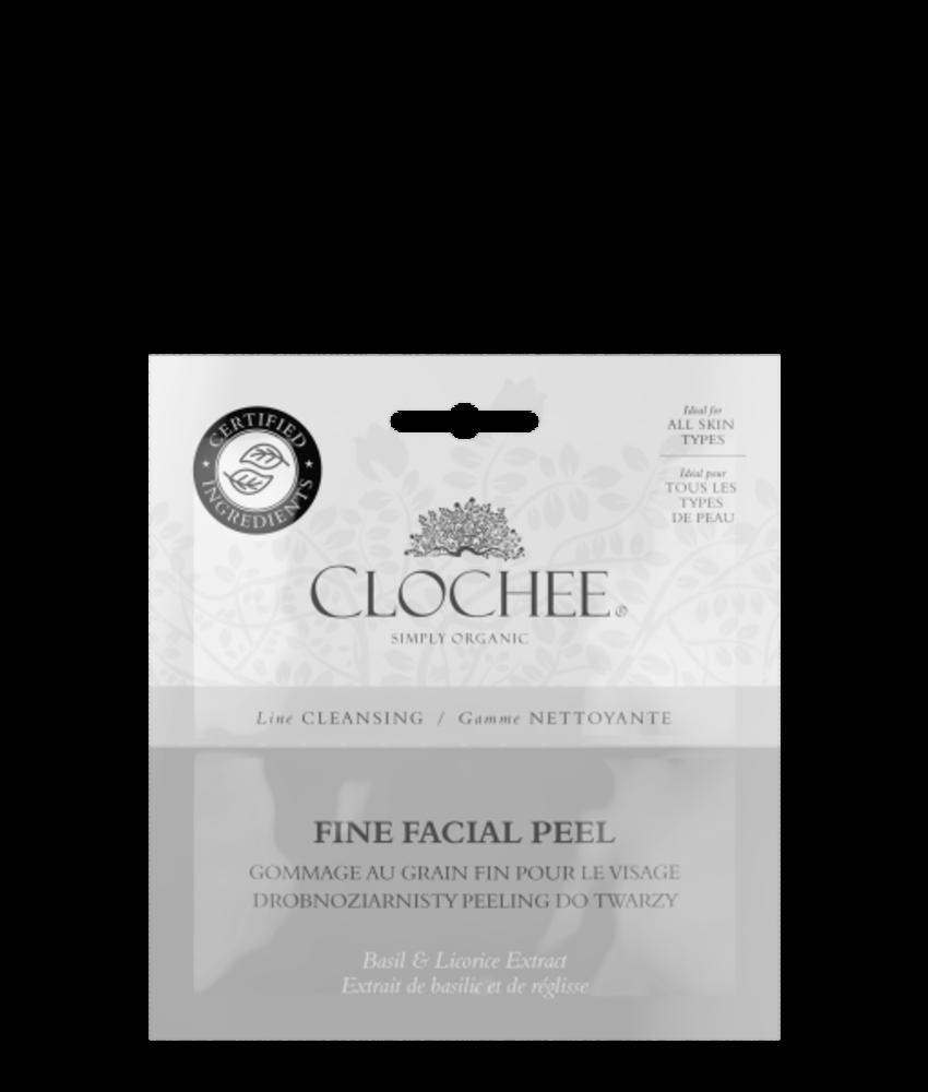 Fine facial peel