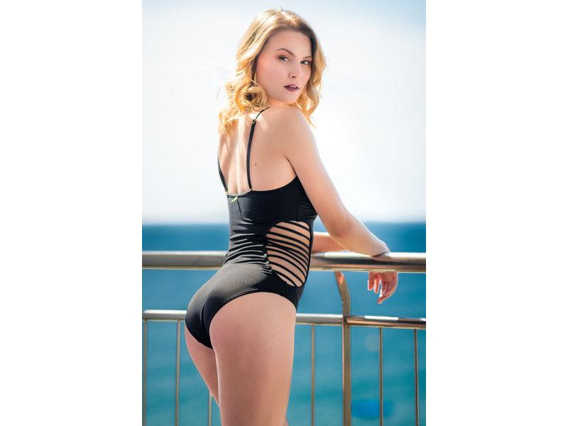 Pillert Swimwear Miranda Bandeau Swimsuit