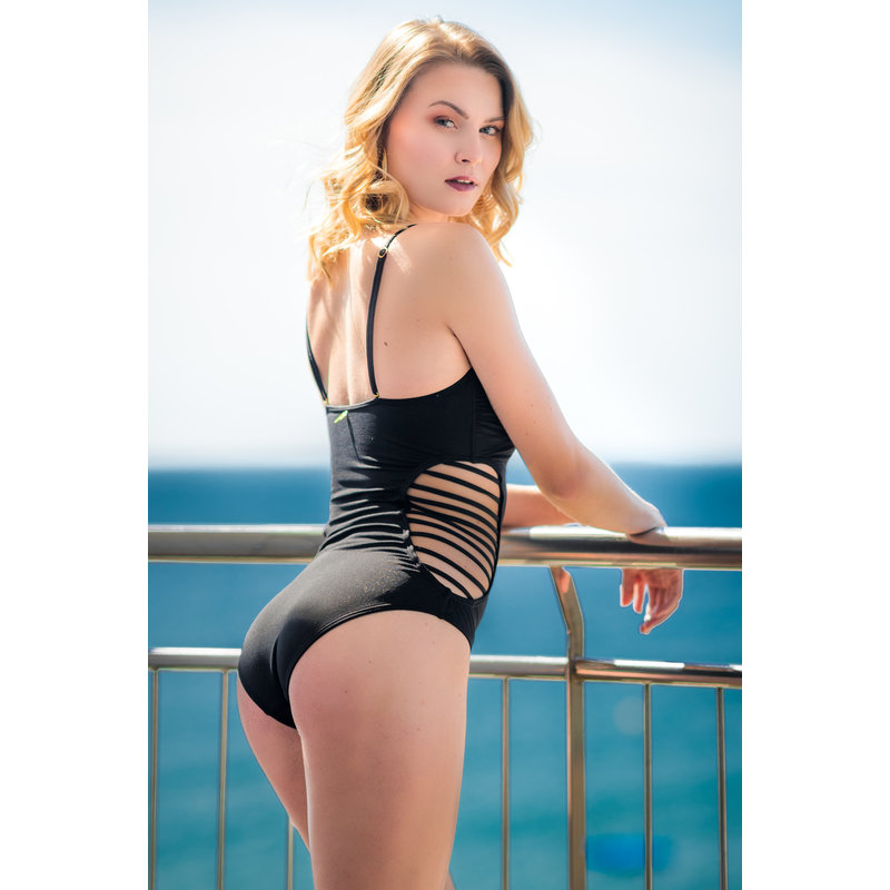 Miranda Bandeau Swimsuit