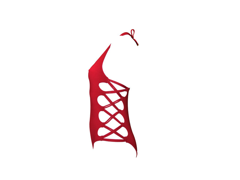 Pillert Swimwear Miranda Swimsuit Red Wine