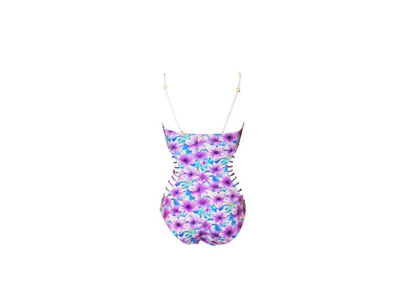 Pillert Swimwear Hibiscus Badeanzug