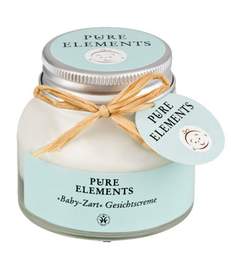 Pure Elements Baby-Zart Gesichtscreme