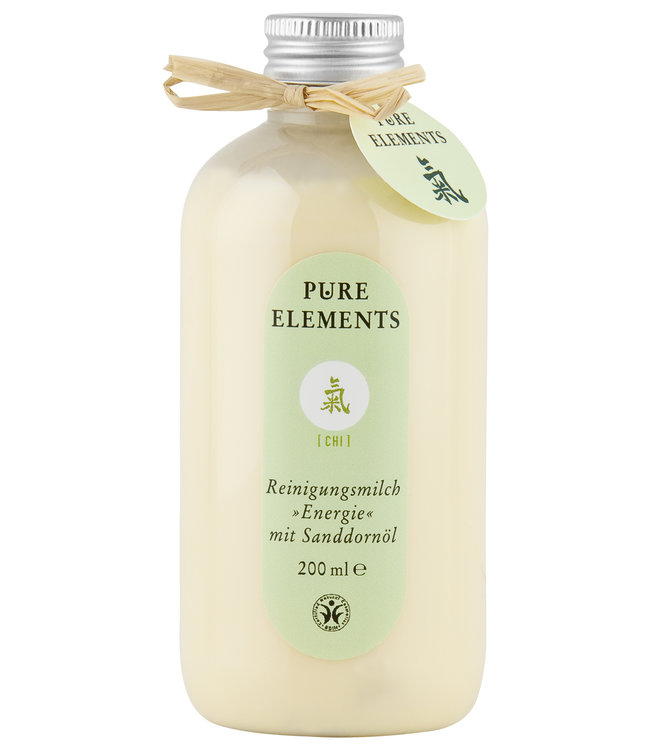 Pure Elements Chi Cleansing milk with Sea Buckthorn oil