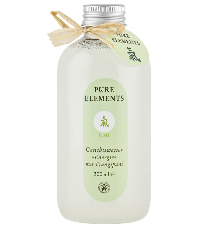 Pure Elements Chi cleansing water with Frangipani