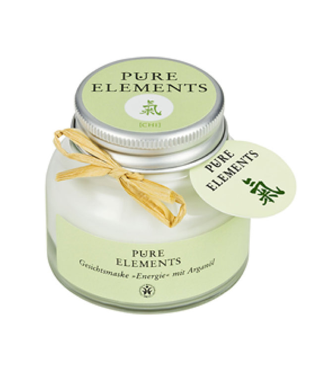 Pure Elements Chi face mask with argan oil