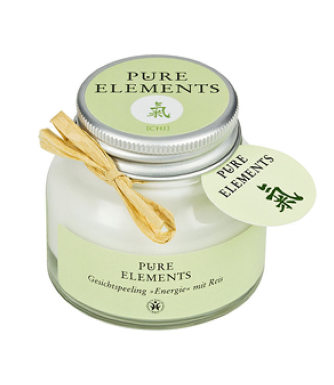 Pure Elements Chi face scrub with rice