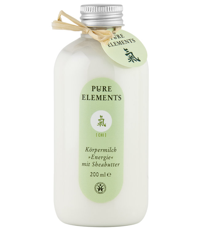 Pure Elements Chi Körpermilch mit Sheabutter