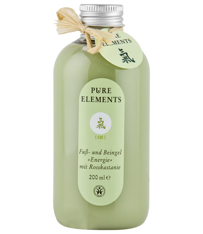 Pure Elements Chi foot and leg gel with rust-chestnut extract