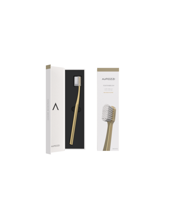 Aurezzi 24K Gold Toothbrush
